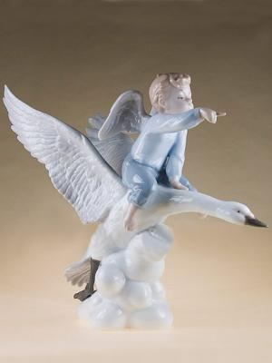 Фигурка Ангел Pavone. Цвет: белый (осн.)