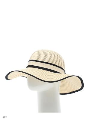 Шляпа Sophie Ramage. Цвет: бежевый