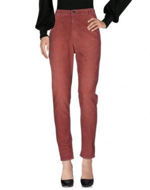 Повседневные брюки E_GO' SONIA DE NISCO. Цвет: ржаво-коричневый