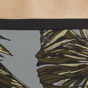 Женские плавки для серфинга Hurley Quick Dry Koko Nike. Цвет: серый