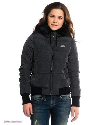 Куртка BSB. Цвет: серый