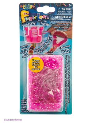 Фингер Лум Розовый RAINBOWLOOM. Цвет: розовый