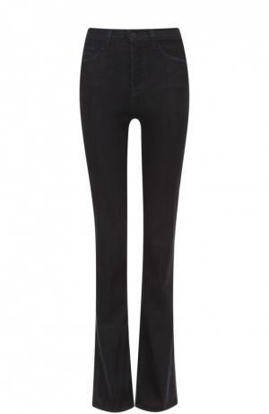 Расклешенные джинсы с карманами J Brand. Цвет: черный