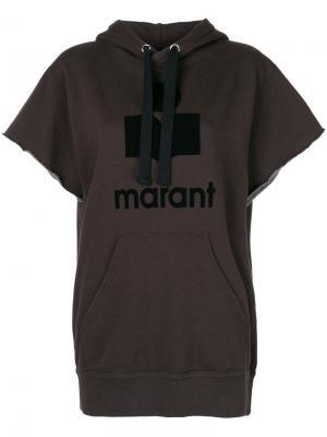 Топ Isabel Marant Étoile. Цвет: коричневый