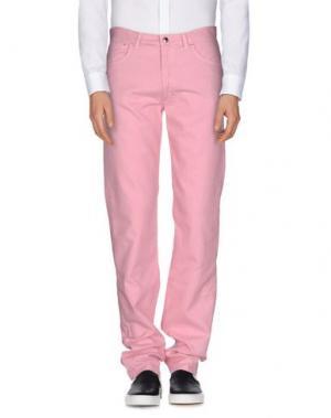 Повседневные брюки GERANI. Цвет: розовый