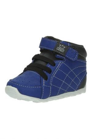 Ботинки KLIN. Цвет: синий