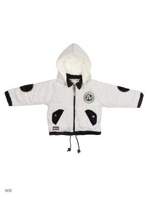 Куртка Happy Bear. Цвет: светло-серый