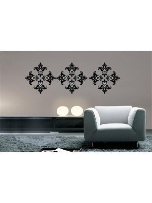 Декоративное настенное украшение Magic Home. Цвет: белый