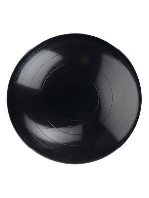 Мяч гимнастический (фитбол) диаметр 45 см DOCA. Цвет: черный