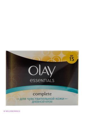 Крем легкий для чувствительной кожи, Complete OLAY. Цвет: бежевый