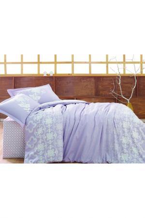 Комплект постельного белья Marie claire. Цвет: lilac and white