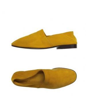 Мокасины MR.HARE. Цвет: желтый