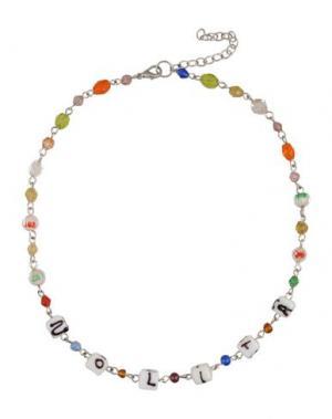 Ожерелье NOLITA. Цвет: зеленый