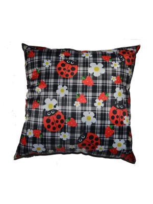 Подушка Gift'n'Home. Цвет: черный, белый, красный