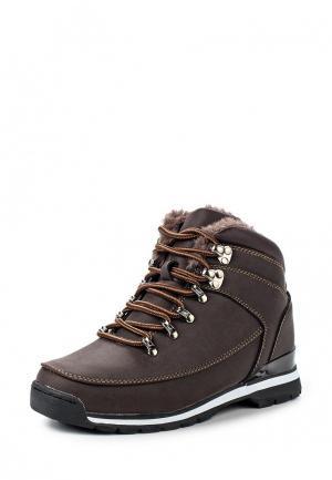 Ботинки трекинговые Mapleaf. Цвет: коричневый