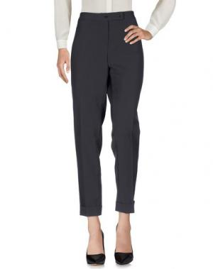 Повседневные брюки TAVIANI. Цвет: стальной серый