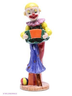 Фигурка Клоун Pavone. Цвет: бежевый, оранжевый, желтый, зеленый