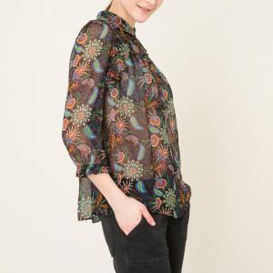 Блузка YUPPIE BA&SH. Цвет: телесный,черный