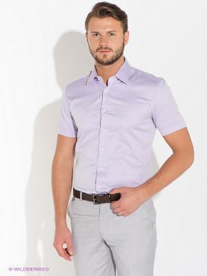 Рубашка Alfred Muller. Цвет: сиреневый