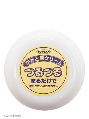 Крем для ног смягчающий, 30 гр. TO-PLAN. Цвет: желтый