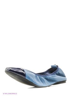Балетки Jog Dog. Цвет: светло-голубой