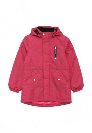 Куртка утепленная Name It. Цвет: фуксия