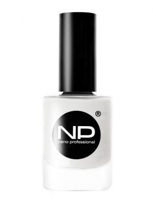 Лак для ногтей, P-001 белый пожар 15 мл Nano Professional. Цвет: белый