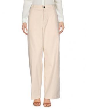 Повседневные брюки BARENA. Цвет: слоновая кость