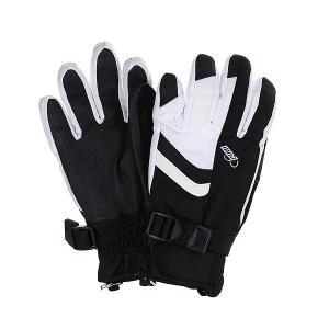 Перчатки сноубордические женские  Astra Glove White Pow. Цвет: белый,черный