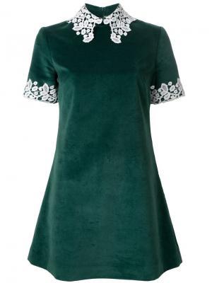 Платье Opium Macgraw. Цвет: зелёный