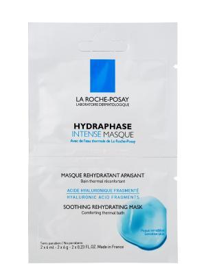 La Roche-Posay, Hydraphase Интенс, Маска интенсивное увлажнение, 1 бидоза: 2х6 мл ROCHE-POSAY. Цвет: лазурный