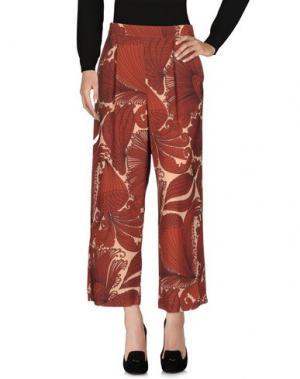 Повседневные брюки CAPRI. Цвет: кирпично-красный