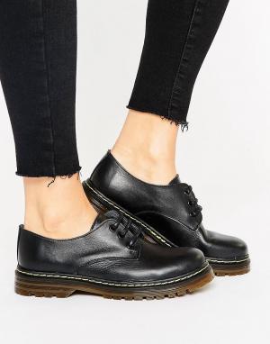 Park Lane Кожаные туфли на шнуровке. Цвет: черный