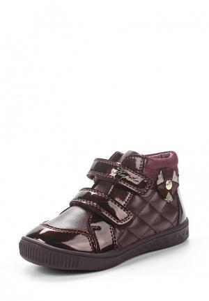 Ботинки Kapika. Цвет: бордовый