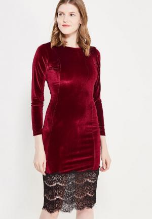 Платье Miss & Missis. Цвет: бордовый