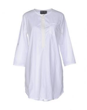 Блузка ES'GIVIEN. Цвет: белый