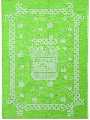 Полотенце Конфитюр-яблоко Белорусский Лен. Цвет: салатовый