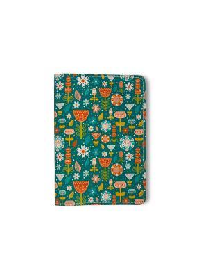 Обложка для паспорта  Весна TonyFox. Цвет: зеленый, красный, желтый