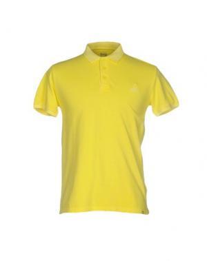 Поло 1° GENITO. Цвет: желтый