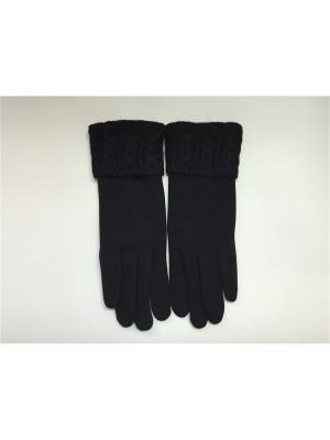 Перчатки Cascatto. Цвет: черный