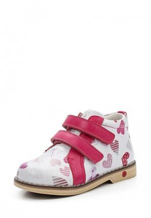 Ботинки Зебра. Цвет: белый