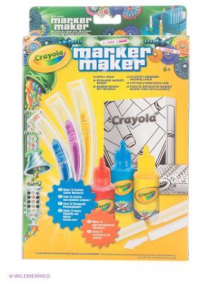 Набор аксессуаров Мастер фломастер Crayola. Цвет: голубой, желтый, красный