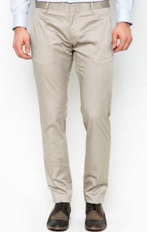 Однотонные зауженные брюки Antony Morato. Цвет: серый