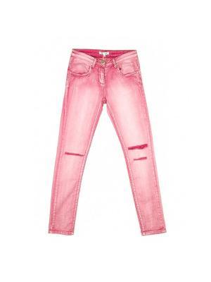 Джинсы Vitacci. Цвет: розовый