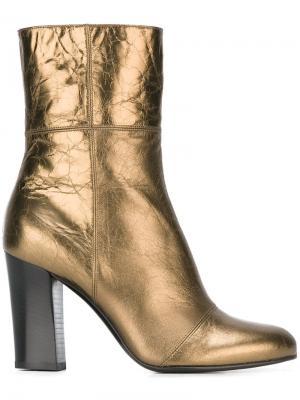 Ботинки по щиколотку Michel Vivien. Цвет: металлический
