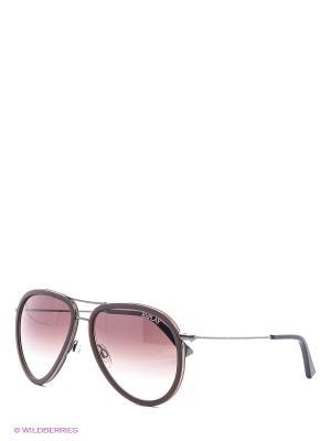 Солнцезащитные очки RY 501 02 Replay. Цвет: серебристый