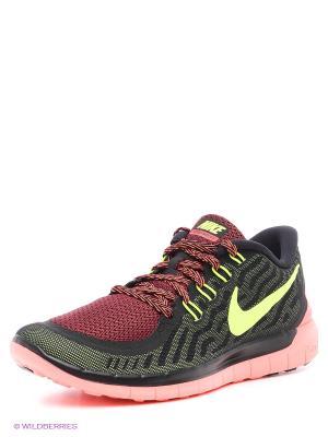 Кроссовки Nike Free 5.0. Цвет: черный, бордовый, розовый, желтый