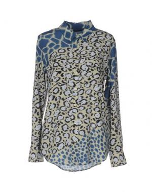 Pубашка EQUIPMENT FEMME. Цвет: бежевый