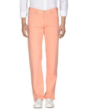 Джинсовые брюки SEVENTY. Цвет: лососево-розовый