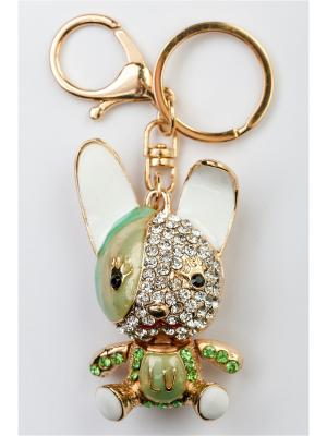 Брелок для сумки и ключей Fransua Ardy. Цвет: зеленый, оливковый, салатовый